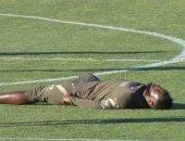 موسى ديمبيلي يتعرض لإغماء في تدريبات أتلتيكو مدريد.. فيديو وصور