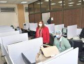 إجراء امتحانات الفصل الدراسي الأول إلكترونيا بنجاح فى 8 كليات بجامعة القاهرة