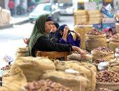 تمور رمضان .. رزق من السنة للسنة فى سوق الساحل.. ألبوم صور