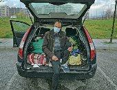 السيارات تتحول إلى سكن لضحايا جائحة كورونا فى إسبانيا.. ألبوم صور