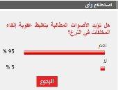 95% من القراء يطالبون بتغليظ عقوبة إلقاء المخلفات في الترع