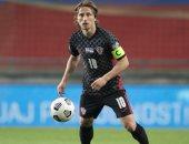 لوكا مودريتش الأكثر مشاركة فى تاريخ المنتخب الكرواتى بـ135 مباراة