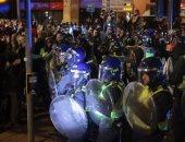 اعتقال 10 أشخاص بعد احتجاج عنيف في بريستول بإنجلترا