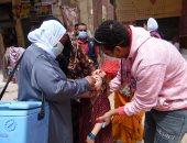 إنطلاق الحملة القومية الثانية للتطعيم ضد شلل الأطفال بمحافظة أسوان.. صور