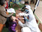 إطلاق الجرعة الثانية من الحملة القومية للتطعيم ضد مرض شلل الأطفال بالغربية
