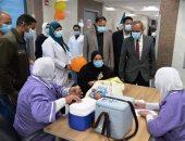 محافظ الإسماعيلية يشهد انطلاق الحملة القومية للتطعيم ضد شلل الأطفال.. صور