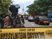 صور.. ارتفاع عدد مصابى هجوم إندونيسيا الانتحارى إلى 20 شخصا