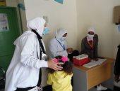 تطعيم 99% من الأطفال المستهدفين بحملة التطعيم ضد شلل الأطفال في شمال سيناء