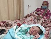 """""""محمد"""" أول مولود بمستشفى التأمين الصحى الشامل فى الأقصر"""
