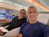 أمير توفيق وخالد بيبو يغادران إلى الإمارات لاختيار قميص الأهلي الجديد