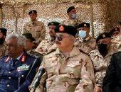 الجيش الليبى ينفذ التمرين التعبوى للواء 106 بحضور المشير حفتر