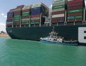 """قناة السويس تقيم احتفالية غدًا أثناء مغادرة سفينة """"إيفرجيفن"""" إلى روتردام"""