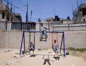 """100 صورة عالمية.. """"أطفال العراق"""" ومحاولة ناجحة للتحليق"""