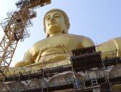 """بناء تمثال ذهبى عملاق لـ""""بوذا"""" ارتفاعه 69 مترًا فى بانكوك بتكلفة 16 مليون دولار"""