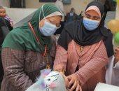 تطعيم مليون و99 ألف طفل بالحملة القومية للتطعيم ضد شلل الأطفال بالقليوبية
