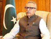 الرئيس الباكستانى يؤكد أهمية مكافحة الإرهاب فى أفغانستان لاستقرار المنطقة
