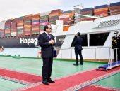 الرئيس السيسى: مشروعات النقل تتكلف 100 مليار دولار وحادث القطار وجعنا كلنا
