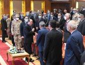 """الرئيس السيسى: """"مشروع تطوير الريف المصرى كأننا بنطور نص مصر من جديد"""""""