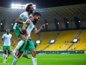 السعودية تتصدر مجموعتها في تصفيات كأس العالم بخماسية في شباك فلسطين.. فيديو