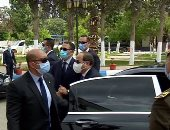 الرئيس السيسى يصل مقر التدريب البحرى التابع لهيئة قناة السويس