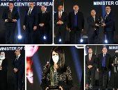 تكريم وزراء ومسئولين خلال احتفالية BT100 على جهودهم خلال جائحة كورونا.. ألبوم صور
