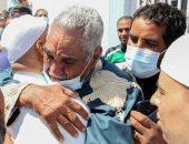 """فرحة العودة.. إطلاق سراح 120 من قوات الجيش الليبى بــ""""الزاوية"""" بحضور مسئولى حكومة الوحدة"""