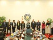 الدكتورة رانيا المشاط تعقد حوارا مفتوحا مع عدد من قيادات القطاع الخاص