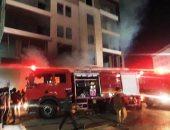 السيطرة على حريق فى مخزن كراتين ببنى سويف