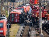 اصطدام قطار ركاب بشاحنة أسمنت فى روسيا