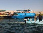 إنقاذ ركاب عبارة طهطا بعد جنوحها وسط النيل بسوهاج.. بث مباشر