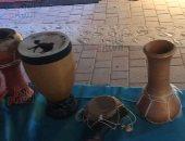 شاهد.. آلات إيقاعية قديمة من صحراء تونس تعود للحياة فى أيام الشارقة التراثية