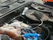 سورى يخترع سيارة تسير بالماء بدلا من الوقود.. فيديو
