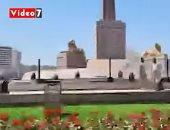 شاهد ميدان التحرير فى اللحظات الأخيرة قبل نقل المومياوات الملكية
