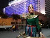 صاحبة سيشن الموكب الملكى: لا أشارك رسميًا وملابسى بعيدة عن الزى الفرعونى