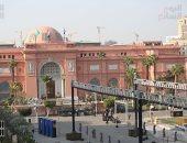 المتحف المصرى بالتحرير يعاود استقبال زائريه بعد نقل المومياوات الملكية