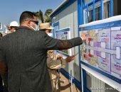 محافظ الدقهلية يدشن مشروع إنشاء 11 برجا سكنيا بالمنصورة.. صور
