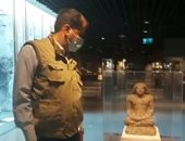 مصر ثم التاريخ.. جولة داخل متحف الآثار بمكتبة الإسكندرية (فيديو)
