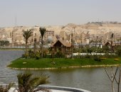 شاهد كيف غير التطوير الجمالى لبحيرة عين الصيرة ملامح مصر القديمة