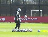 شاهد مهارات كلوب فى تدريبات ليفربول استعدادا لمواجهة ريال مدريد