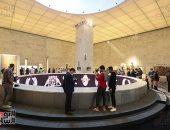 رئيس هيئة متحف الحضارة: إقبال هائل من الأجانب على زيارة المتحف فى أول يوم