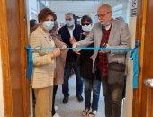 """افتتاح معرض """"توظيف عناصر الفن القديم بمحيط المتحف المصرى الكبير"""" للدكتورة هالة حسنين"""