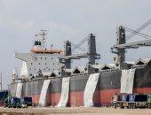 """نجاح شحن أول سفينة """"كلينكر"""" بحمولة 50 ألف طن من شرق بورسعيد لغرب إفريقيا.. صور وفيديو"""
