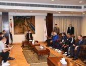 وزارة الرياضة تحتفل باليوم العالمي للرياضة بمركز شباب الجزيرة