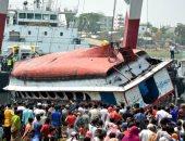 """عبارة الموت تصل بنجلاديش.. العاصمة """"دكا"""" تودع 50 شخصا على متن باخرة نقل ركاب"""