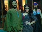 """محمد رمضان وسمية الخشاب فى صورة جديدة من كواليس مسلسل """"موسى"""""""