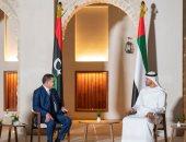 ولى عهد أبو ظبى: ثقتنا كبيرة في قدرة الليبيين على تجاوز كل التحديات