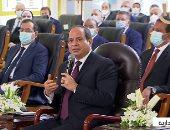 الرئيس السيسى: الشهادة الصادرة من مجمع الإصدارات مؤمنة بنسبة 99.9%