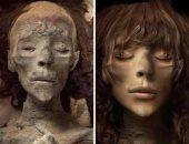 شاب مصرى يقدم صورة تقريبية للملكتين تى ونفرتيتى.. فريد: نفذتهم بالفوتوشوب