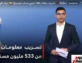 تسريب بيانات 500 مليون حساب فيس بوك.. فى تغطية تليفزيون اليوم السابع