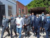 رئيس هيئة قناة السويس ومحافظ بورسعيد يتقدمان جنازة اللواء سماح قنديل.. فيديو